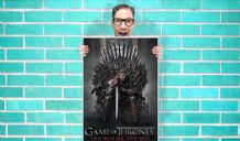 Game Of Thrones Tv Art Pint - Wall Art Print Poster   - Purple Geekery